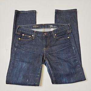 J. Crew Matchstick Jeans Size 28 Short